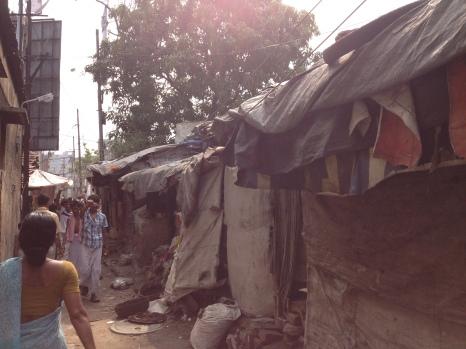 Un slumg de Calcuta / ADLH